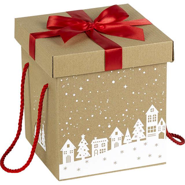 Mini Coffret-Cadeau Blanc White Cotton Cards 2,5 cm x 2,5 cm-Age 40