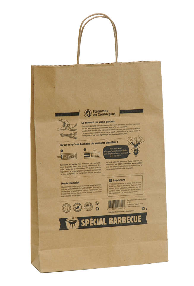 d0203576d4276 Sales of Kraft Paper bag with your logo   Personalized packing.
