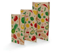 Fruits and Veggies kraft bags : Small bags
