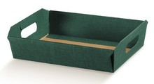Corbeille carton 350x260x70mm : Trays, baskets