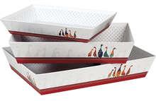 """Corbeille carton """"Canard"""" : Trays, baskets"""