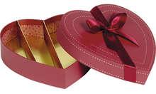 Coffret COEUR chocolat 4 rangées : Boxes