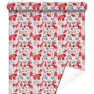 """Rouleau papier cadeau """"Laponie Rouge"""" : Packaging accessories"""