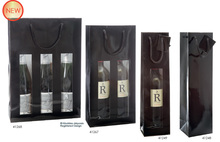 Luxury glossy bag  : Bottles packaging
