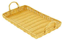 Plateau Polypro rectangle : Trays, baskets