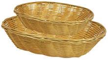 Panières ovales en polypro : Trays, baskets