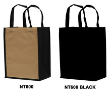 Reusable non woven bag for 6 bottles : Bottles packaging and local products