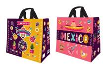 "Cabas polypropylène 33 litres "" Mexico "" : Bags"