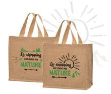 """Sacs cabas jute """"Nature"""" : Bags"""