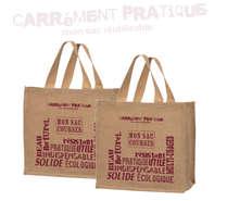 """Sacs cabas jute """"Carrément Pratique"""" : Bags"""
