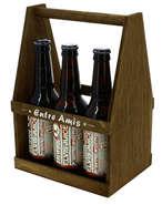 Serviteur 6 bières  : Bottles packaging
