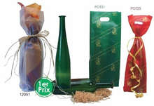 Plastic bag no expensives : Bottles packaging and local products