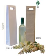 Paper bag for 1 bottle  : Bottles packaging and local products