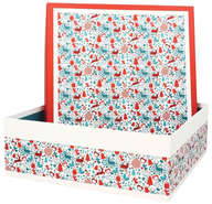 Boite Coffret  Carton Laponie  : Boxes