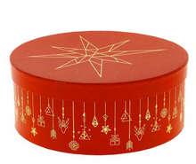 Boite à chapeau Ronde Christmas  : Boxes