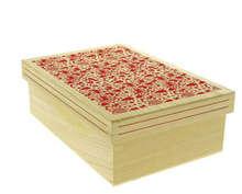 Coffret rectangle Bois Scandi : Boxes