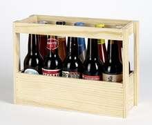 Coffret bois bières  : Bottles packaging