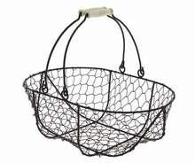 Panier Metal Antic Ovale : Trays, baskets