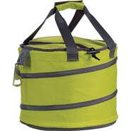 Sac isotherme rond gris/ vert anis avec décapsuleur  : Bags