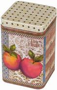 """Boite métal à thé """"APPLES"""" : Boxes"""