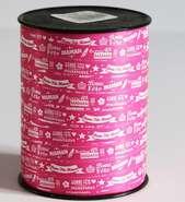 Bolduc Bonne fête Maman  : Packaging accessories