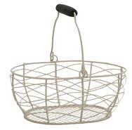 Mini panier métal : Trays, baskets