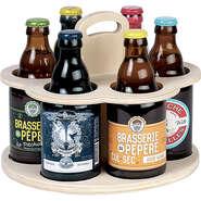 Tourniquet 6 Bouteilles Steinie : Bottles packaging