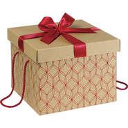 """Coffret carton kraft """"Rosaces"""" : Boxes"""