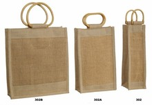 Sac bouteille jute double maille : Bottles packaging and local products