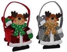 Sac feutrine Cerfs de Noël : Celebrations