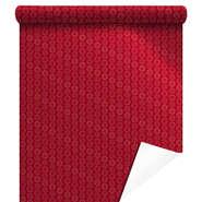Papier cadeaux métallisée  Xmas Gifts rouge  : Packaging accessories