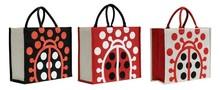 Printed jute bag : Bags