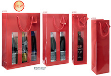 Sacs Luxe pelliculés brillants : Bottles packaging and local products