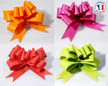 Pull bows  MAT  : Packaging accessories