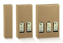 Cardboard boxes H 240 mm : Olive oil packaging
