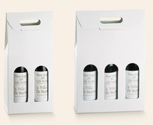 Economic paperboard box : Bottles packaging