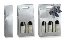 Silver collection , 1 2 or 3 bottles : Bottles packaging