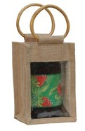 Jute bag for 1 jar 1 kg : Jars packing