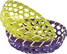 2 Bamboo Basket : Trays, baskets