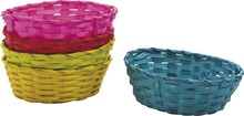 Corbeille bambou teinté  : Trays, baskets