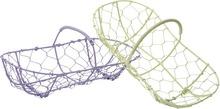 Metallic Basket : Trays, baskets