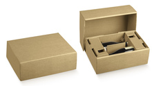 Paperboard box for shipment, 2&3 bottles : Shipping packaging