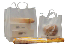Translucent carry bags : Catering  delicatessen shop