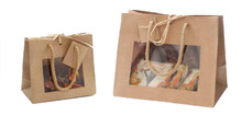 Mini Bag with window : Catering  delicatessen shop