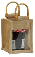 Jute bag for 1 jar 0.5 Kg : Jars packing