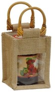 Jute bag for 1 jar x 0.5 kg : Jars packing