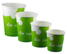 Gobelet Bio cup 100% végétal  : Biodegradable dishes