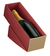 Paperboard box for 1 bottle : Bottles packaging and local products