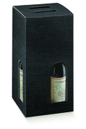 Paperboard box for 4 bottles : Bottles packaging