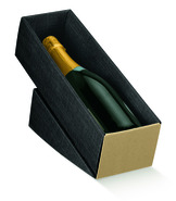 Paperboard box for 1 bottle : Bottles packaging